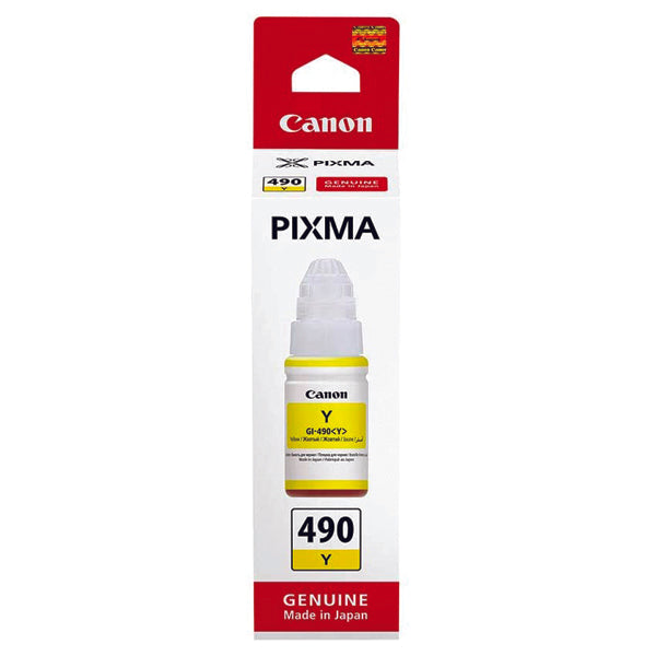 CANON PIXMA INK BOTTLE 490 YELLOW