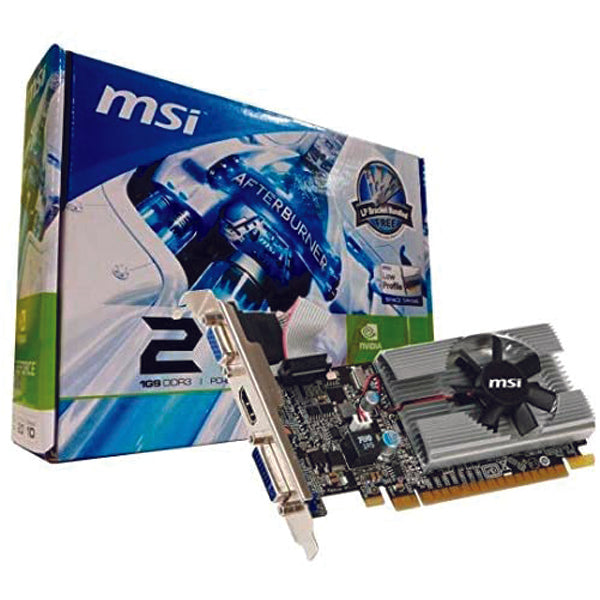 MSI GEFORCE 210 1GB DDR3 GRAPHICS CARD