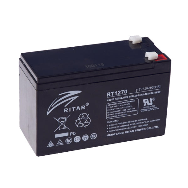 RITAR 7AH/12V/20HR UPS SOLAR BATTERY