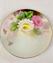 Load image into Gallery viewer, Hand Painted Floral Plate by Nippon