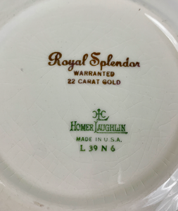 Homer Laughlin Plate- Made in U.S.A