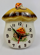Load image into Gallery viewer, Merry Mushroom Clock