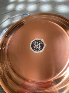 1970's Coppercraft Guild Ashtray/ Dish