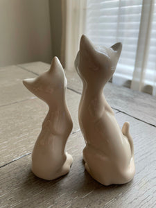 Vintage Porcelain Cats by OMC