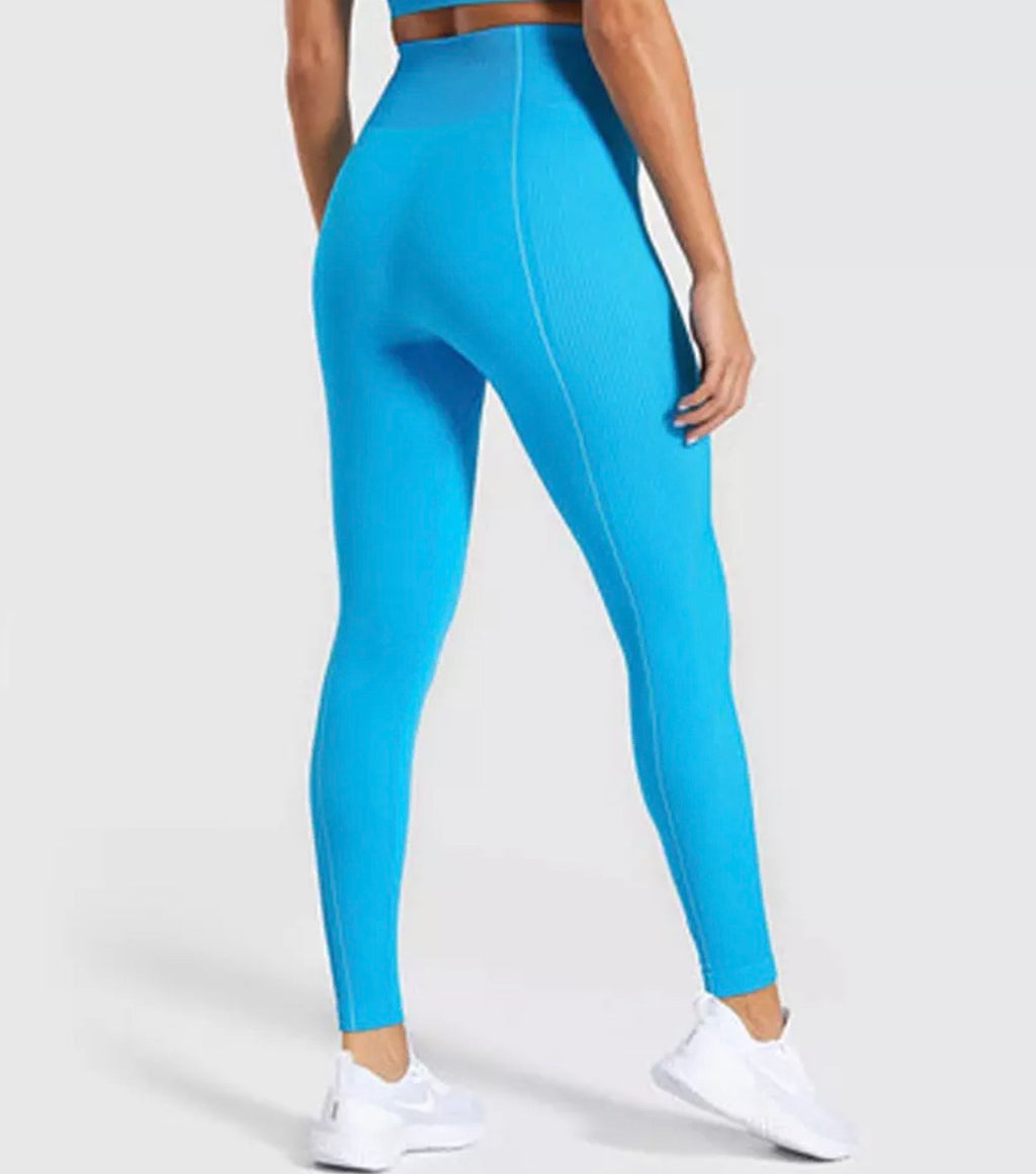 Blue Vision Seamless Leggings