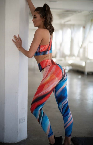 Lava Leggings - LoujeanïeFitness
