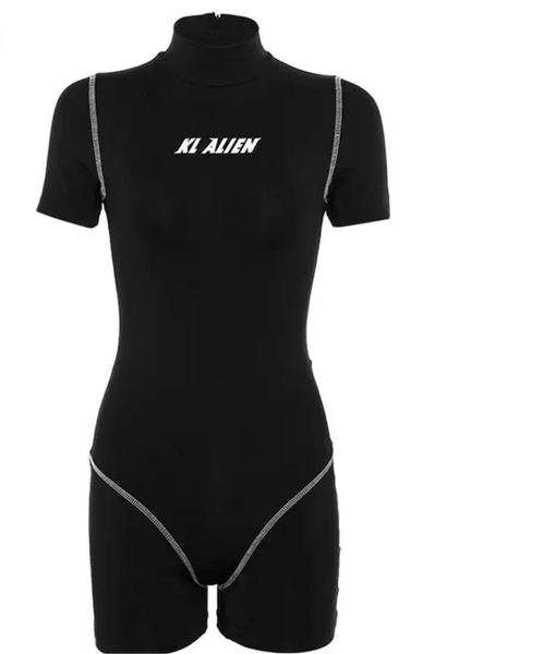 Black Sting Sport Suit - LoujeanïeFitness