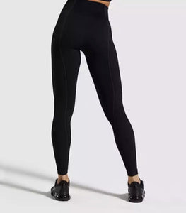 Black Vision Seamless Leggings - LoujeanïeFitness
