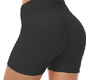 Black Honey Comb Shorts
