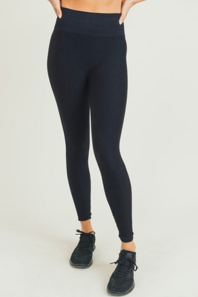 Ultra Black Leggings - LoujeanïeFitness