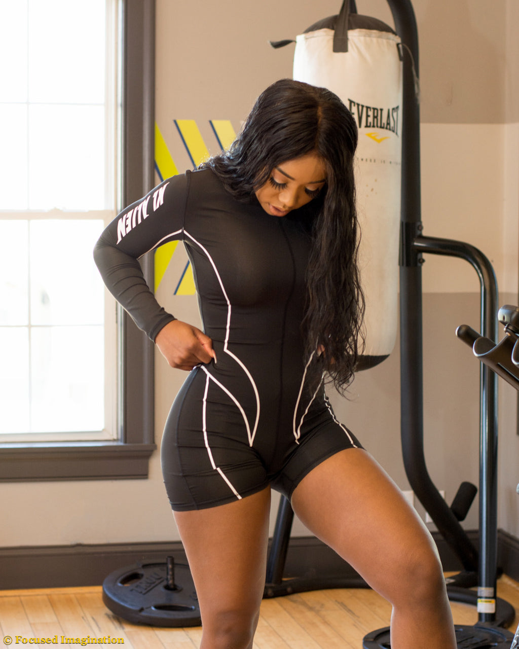 Long Sleeve Motor Sport Suit - LoujeanïeFitness