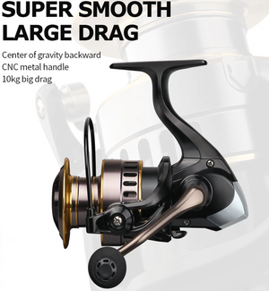 Superspeed 10kg Drag Fishing Reel