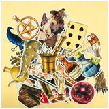 38pcs Retro magic items decoration stationery sticker diy diary scrapbooking label sticker stationery