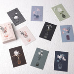 28 Sheets/Set Dream Flower Plant Series Lomo Card Cartoon Mini Postcard Message Card Christmas Gifts