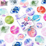45 pcs/Box Various Stickers Pack Kawaii Planner Journal Scrapbooking Stickers Stationery School Supplies