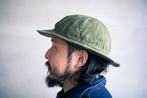 30's Hat Olive Duck/ One-Wash