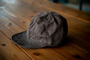 40's Cap Charcoal Grey Duck/ One-Wash