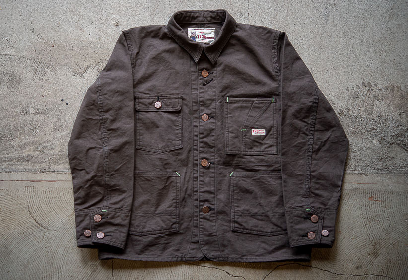 TCB Tabby's Jacket Charcoal Grey Duck 11.2oz/ One-Wash