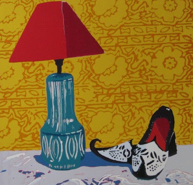 Still-Life with Curly Toed Shoes