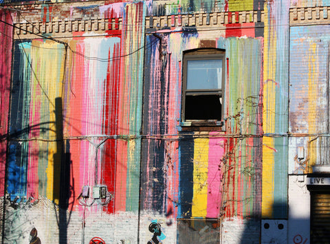 Painted Wall, Brooklyn, New York, 2012
