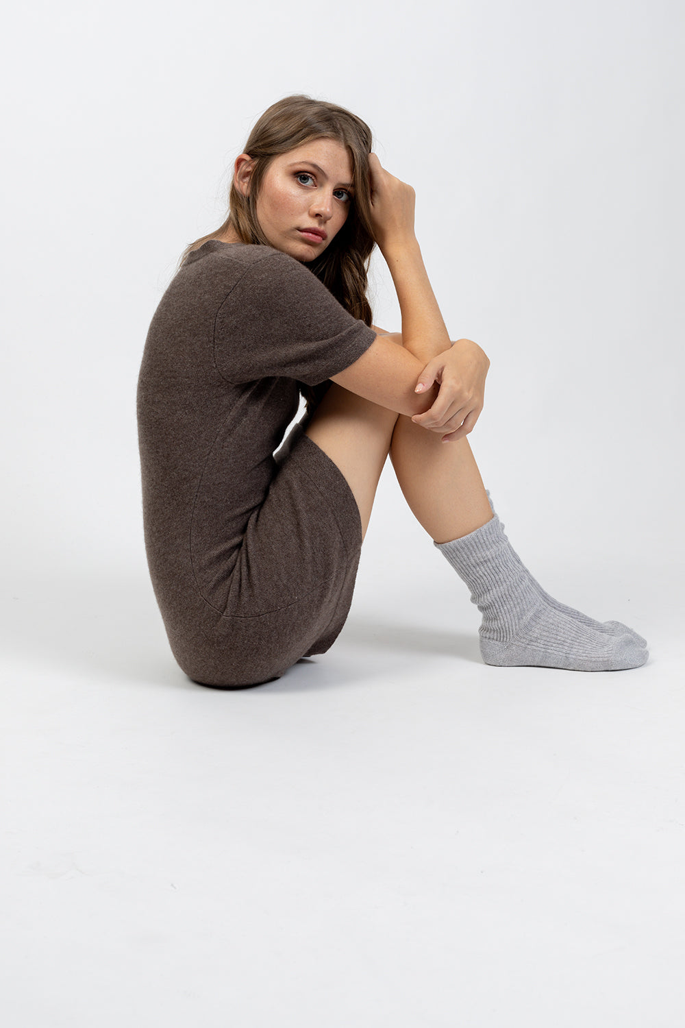 Chaussettes CHEWILA Gris clair
