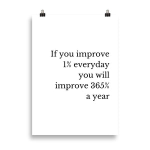 Improve 1% - Insposters