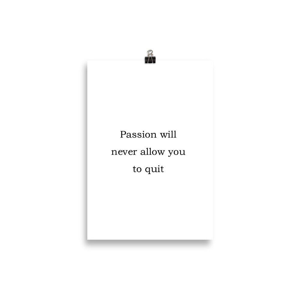 Never Quit - Insposters