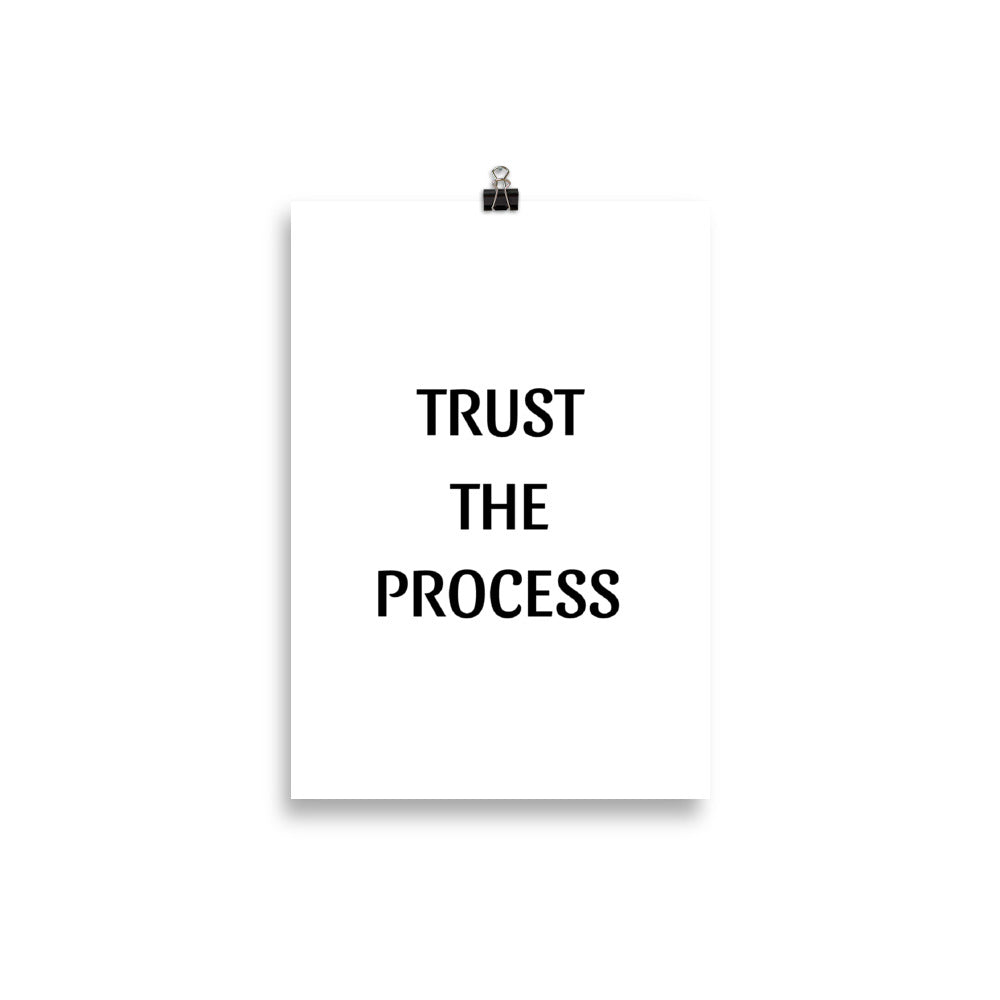 Trust the Process - Insposters