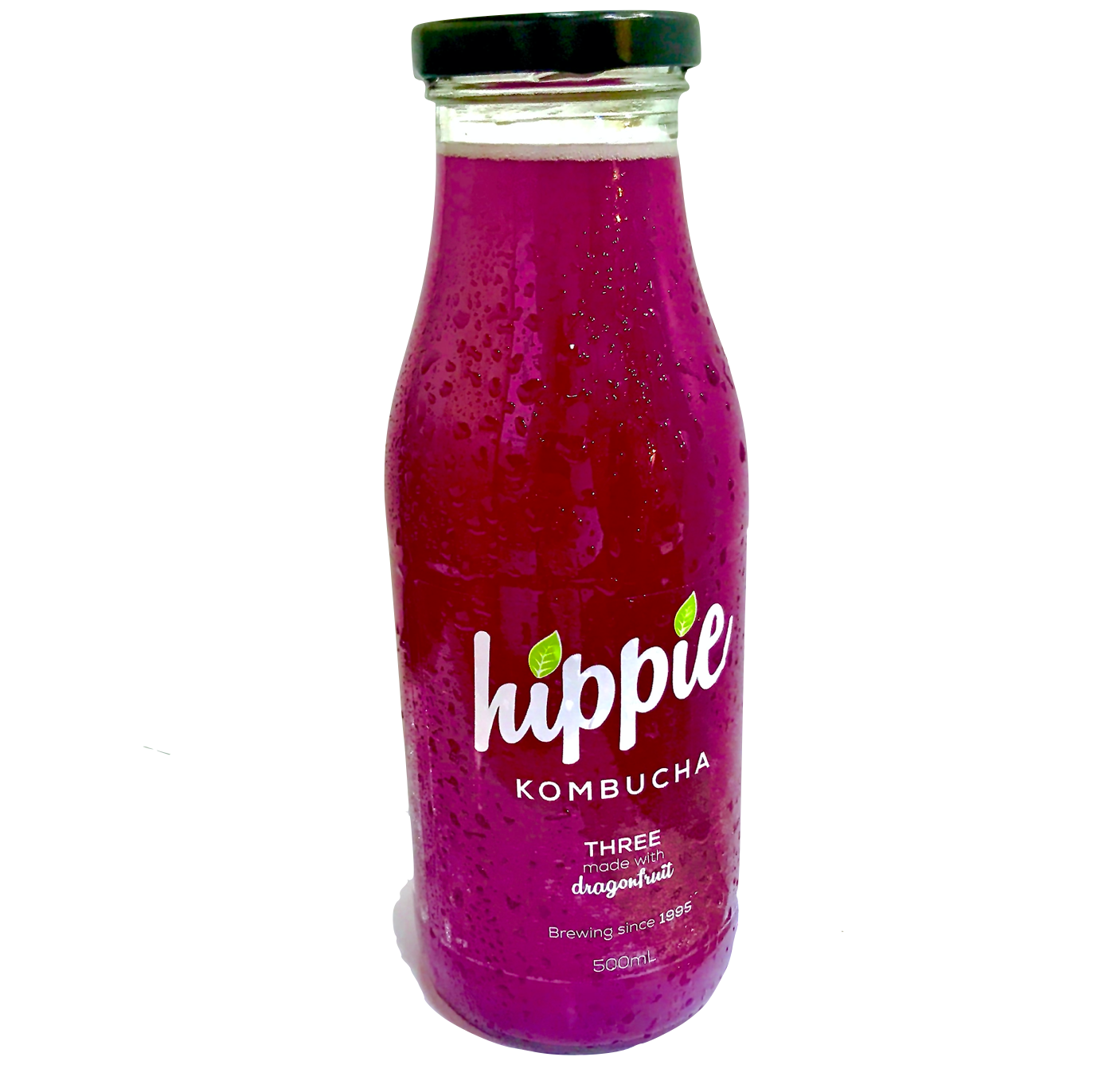 Hippie Three - Dragon Fruit - Perth  Local Organic Kombucha