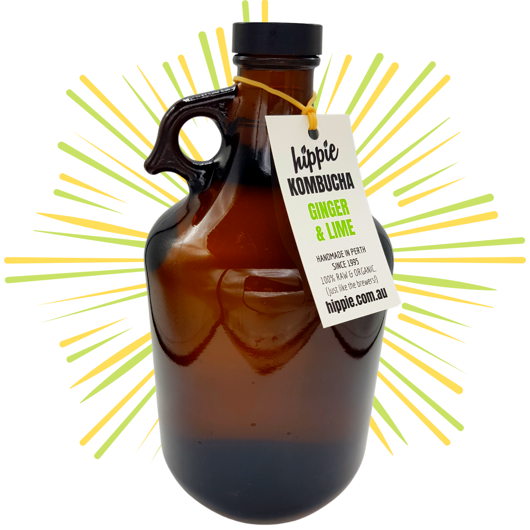 Ginger & Lime - 2L Growler