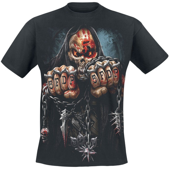 Spiral 5FDP-Game Over T-Shirt Black