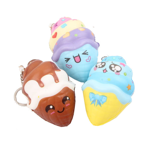 Kawaii Korean Japanese Small cake ice cream holiday promotion gift Squishy