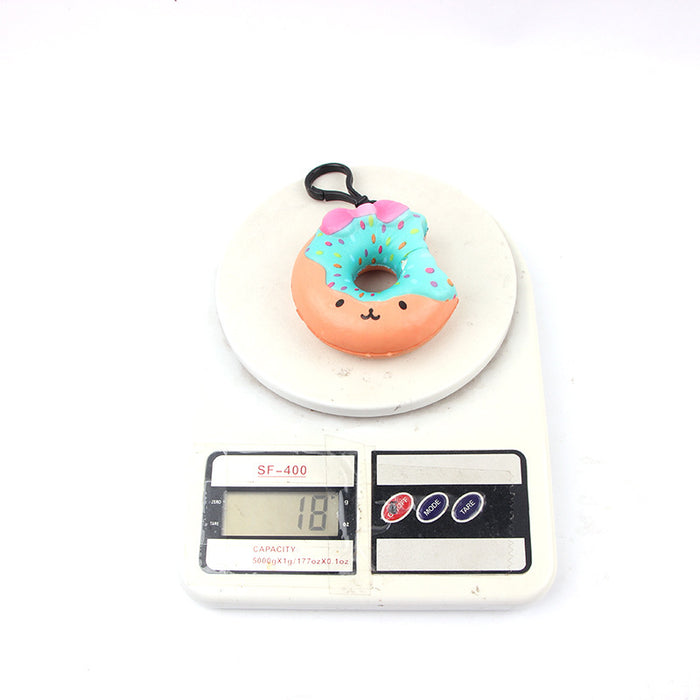 Silly Squishy - Slow bounce and take a bite out of the donut toy Squishy