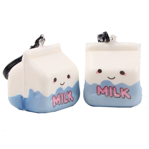 Silly Squishy - Kawaii Korean Japanese Small Milk Box PU Slow Rebound Decompression Toy Squishy