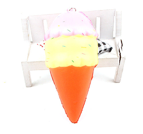 Silly Squishy - Imitation food ice cream animal pendant key chain Squishy