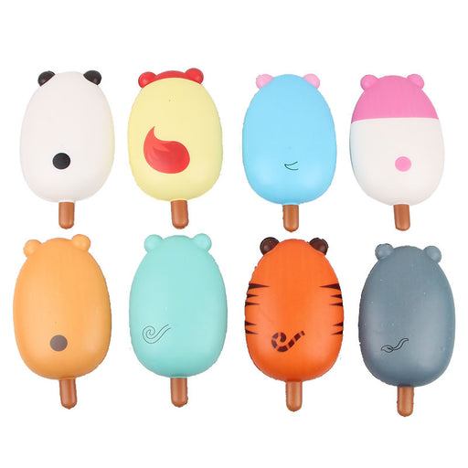 Kawaii Korean Japanese Color printing animal ice cream slow rebound toy Squishy