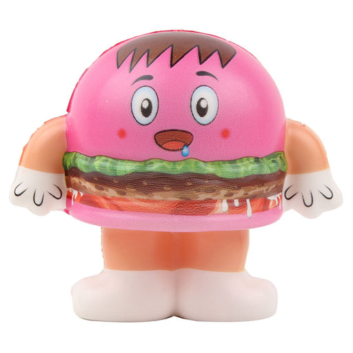 Kawaii Korean Japanese Hamburger Food Slow Rising Squishy