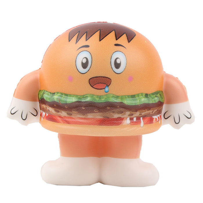 Silly Squishy - Kawaii Korean Japanese Hamburger Food Slow Rising Squishy