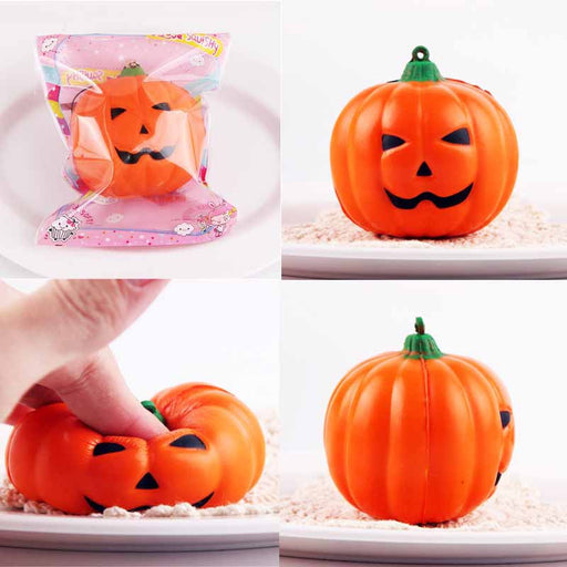 Silly Squishy - Imitation PU pumpkin pendant Squishy