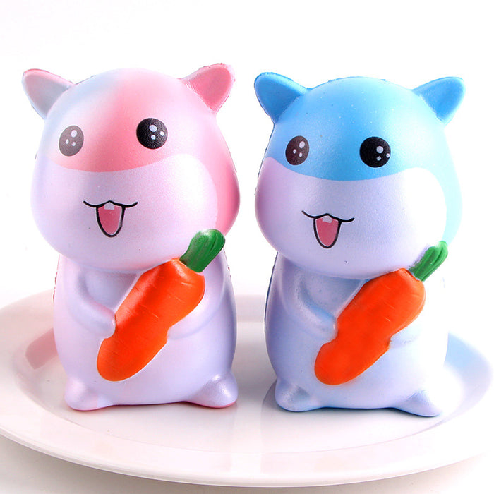 Silly Squishy - Slow bounce PU imitation bread cartoon hamster Squishy