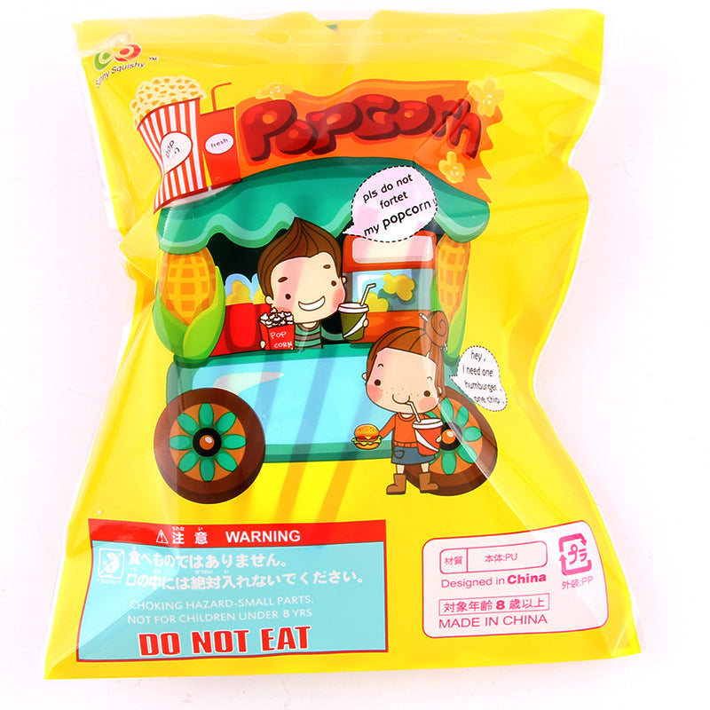 Silly Squishy - Slow bounce popcorn PU imitation toy Squishy