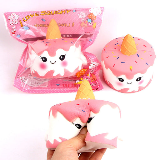 Silly Squishy - Kawaii Korean Japanese Slow Rebound Unicorn Cross-Border Cake Squishy