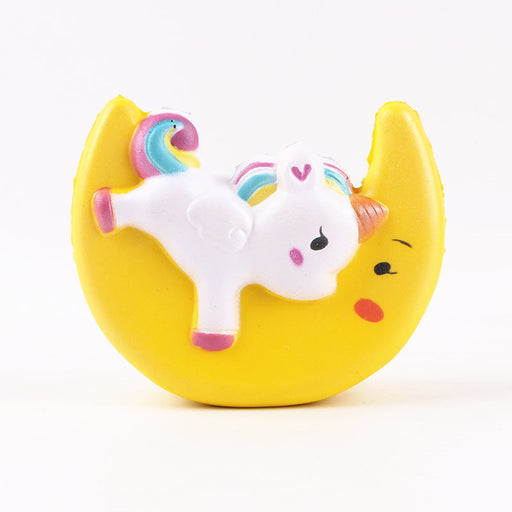 Silly Squishy - Kawaii Korean Japanese Moon Pegasus Unicorn Pu Slow Rebound Squishy