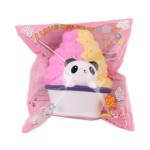 Silly Squishy - Kawaii Korean Japanese Panda Ice Cream Cross-Border Slow Rebound Squishy