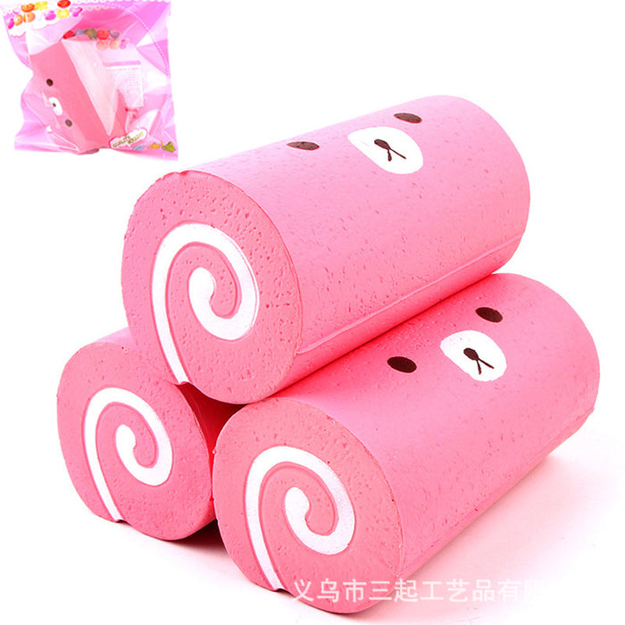 Silly Squishy - PU simulation slow rebound large Swiss roll Squishy