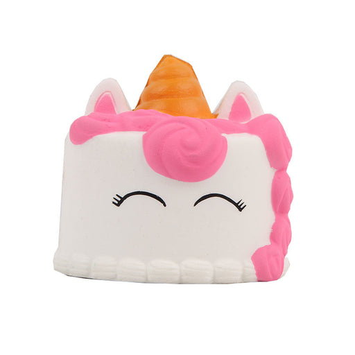 Kawaii Korean Japanese Small Unicorn Cake Slow Rebound Decompression Toy Squishy