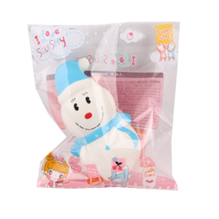 Silly Squishy - Kawaii Korean Japanese Slow Rebound Hooded Christmas Snowman Squishy