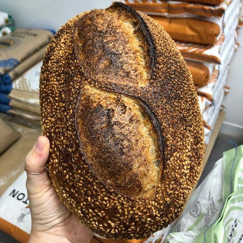 Wholemeal & Sesame Seed Sourdough