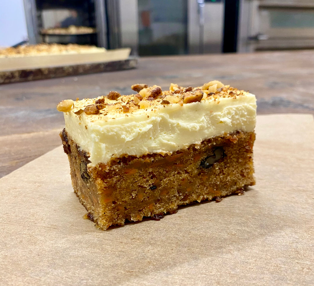 Carrot Cake with Walnut Brittle