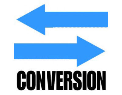 link to conversions page